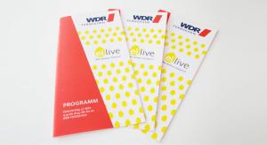 Flyer-Gestaltung WDR
