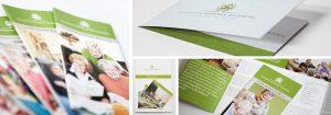 Corporate Design Entwicklung mit Style Guide Katalog Layout von deerns und jungs Branding Agentur Köln