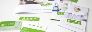 Corporate Design Entwicklung für Krankenkasse