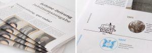 Layout Tageszeitung von deerns und jungs Werbeagentur Köln