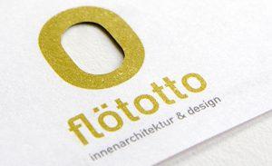 DEERNS und JUNGS DESIGN, Corporate Design Agentur Köln entwickelt Neupositionierung im Markenworkshop und Corporate Design mit Visitenkarten und Briefpapier für flötotto Innenarchitekten und Designer