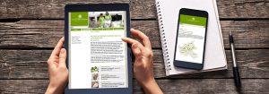 responsive Website Pflegeheim von deerns und jungs Werbeagentur Köln