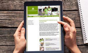 DEERNS und JUNGS DESIGN, Corporate Design Agentur Köln gestaltet responsive Webdesign für Hamburger Pflegeanbieter