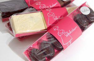 Verpackungsdesign für Schokolaterie von deerns und jungs Corporate Design Agentur Köln