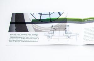 Flyer-Gestaltung für Handwerker von deerns und jungs Agentur für Design