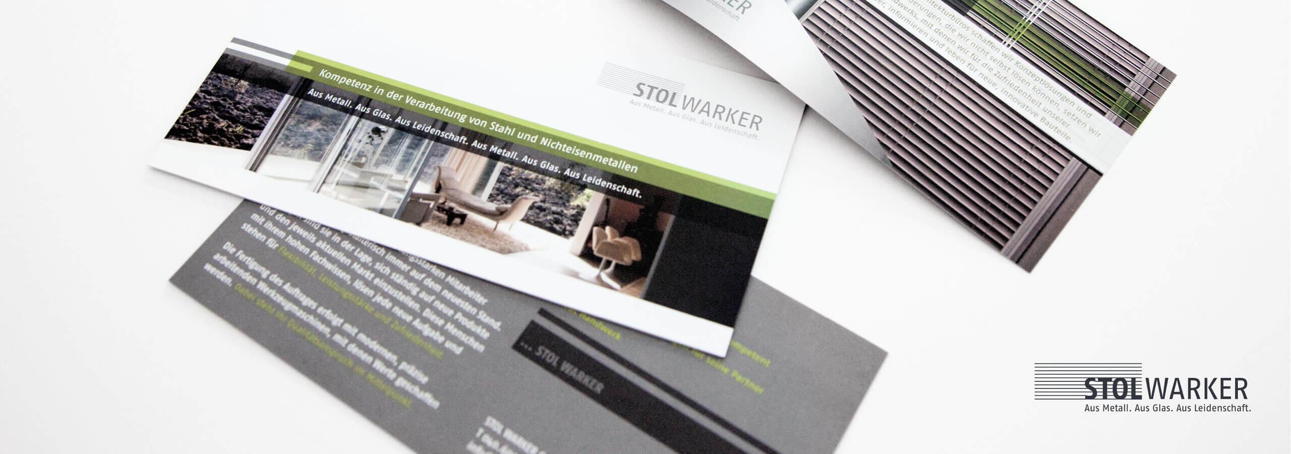 Corporate Flyer für Handwerksbetrieb von deerns und jungs Werbeagentur Köln