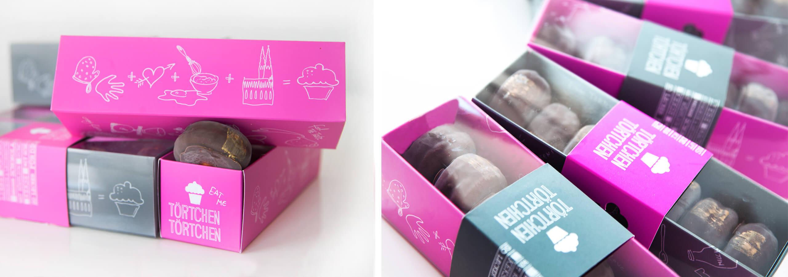 Packaging mit Illustration