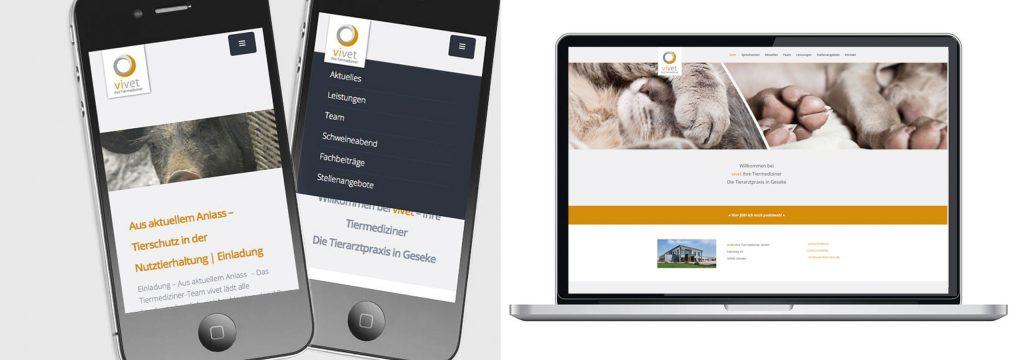 Webdesign Tierarzt
