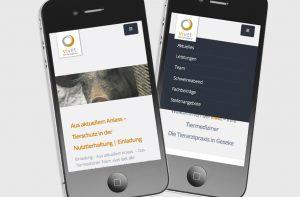 Mobile Website von deerns und jungs Design Agentur Köln
