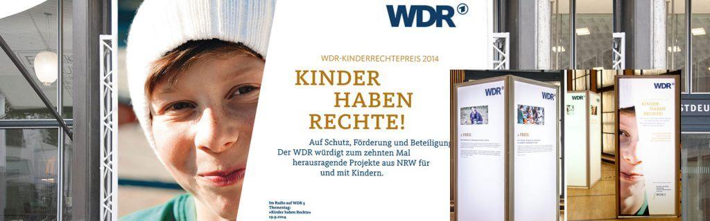 Kampagne Kinder Rechte WDR