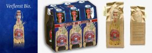 Marketing für Bio-Bier von Design Agentur Hamburg