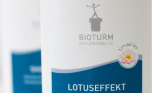 Branding und Packaging Design fuer Bioturm Kosmetik