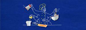 DEERNS und JUNGS DESIGN, Werbeagentur Köln, illustriert und animiert Produktvideo
