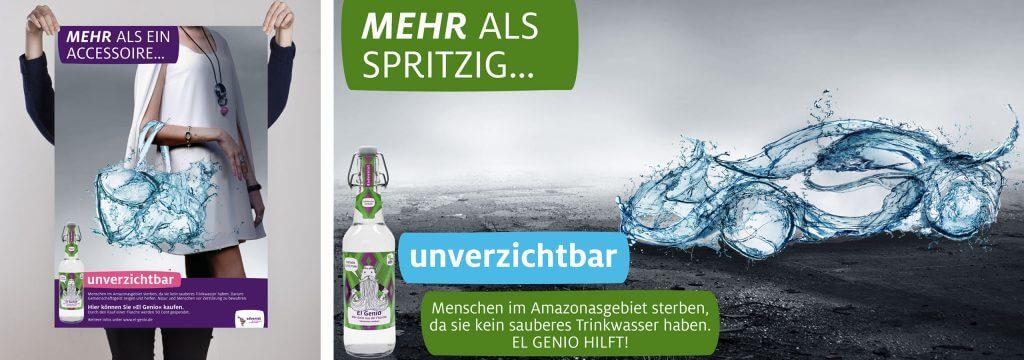 Social Media Kampagne: Sauberes Trinkwasser