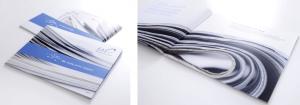 Layout Unternehmens-Broschüre, Design Agentur Hamburg
