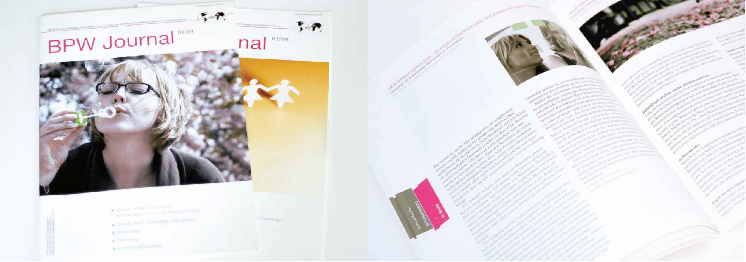 Editorial Design Relaunch Magazin des BPW