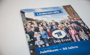 Gestaltung Presseheft »Lindenstraße« für ARD