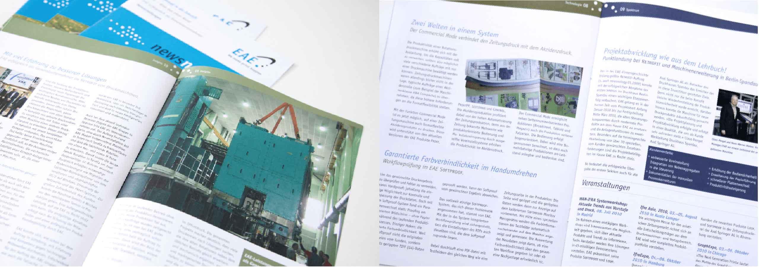 Magazin Design für Software-Unternehmen Hamburg