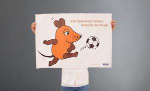 deerns und jungs design, Corporate Design Agentur Köln setzt Plakat für »die Maus« um.