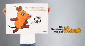 deerns und jungs design, Corporate Designagentur Köln setzt Plakat für »die Maus« um.