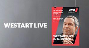 Plakatgestaltung »Westart« von deerns und jungs design, Corporate Design Agentur Köln