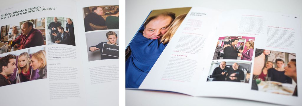 Unternehmenskommunikation, Print-Design, Editorial Design, Gestaltung von deerns und jungs design, Design Agentur Köln