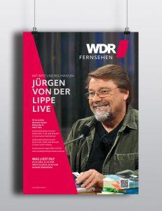 Plakatkampagne »Was liest du« WDR Fernsehen
