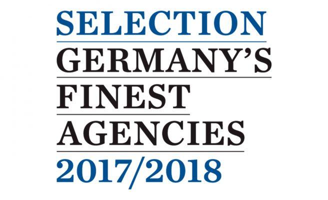 """deerns und jungs design, Design Agentur Köln wird als eine der besten Agenturen für das Buch »Germany´s finest Agencies"""" ausgewählt."""