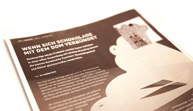 deerns und jungs design, Design Agentur Köln gestaltet attraktive Pralinen-Verpackung. Individuelles Branding steigert Verkaufszahlen