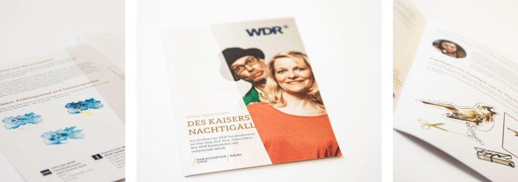 Layout Programmheft, Editorial-Design, Flyer, Unternehmensbroschüre, Kreation und Layout von deerns und jungs design, Design Agentur Köln