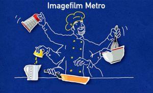 Imagefilm für die Metro