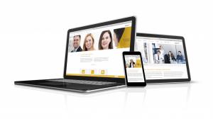 Gestaltung neue Website, responsive Webdesign für Unternehmensberatung. Design: Deerns und Jungs design, Webdesign Agentur Köln