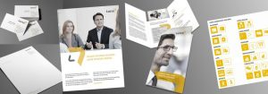 Corporate Design Entwicklung. Gestaltung Deerns und Jungs design, Agentur für Corporate Design und Branding, Köln