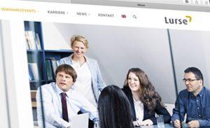 responsives Webdesign für Unternehmensberatung. Gestaltung Deerns und Jungs design, Webdesign Agentur Köln