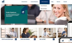 responsive Webdesign, userzentrierte Gestaltung der Website für die OVB, von deerns und jungs design, Agentur Webdesign Köln