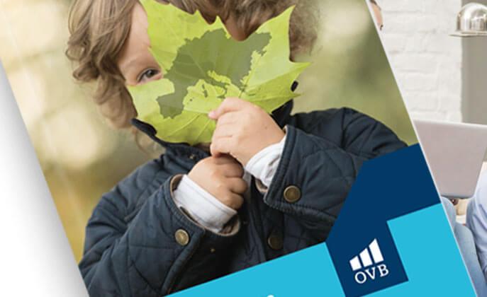 Konzept und Layout Geschäftsbericht OVB Vermögensberatung