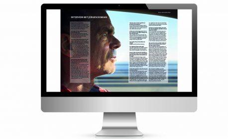 """Online-Presseheft von """"domian"""", gestaltet von DEERNS und JUNGS DESIGN, der Designagentur Köln"""