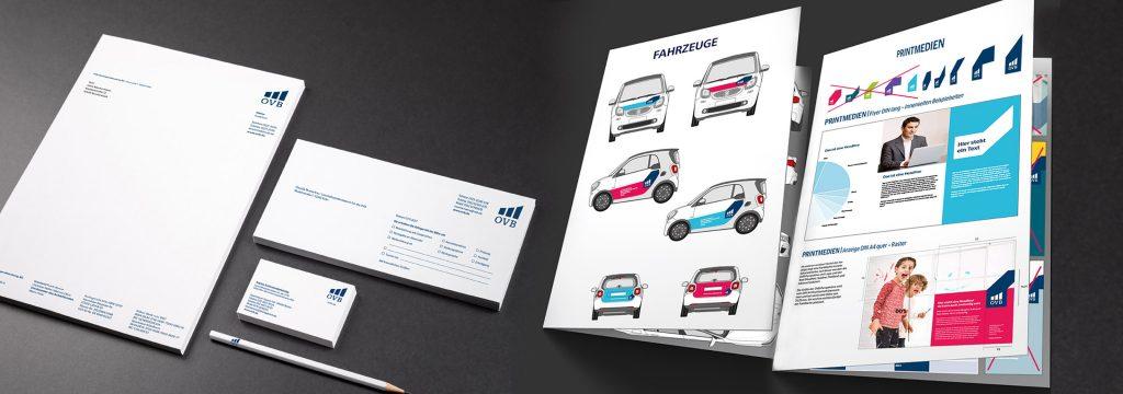 Corporate Design Manual und Gestaltung von Geschäftsausstattung von DEERNS und JUNGS Design aus Köln