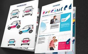 Seiten aus dem Design-Manual, entwickelt von der Kölner Agentur für Corporate Design, DEERNS und JUNGS Design