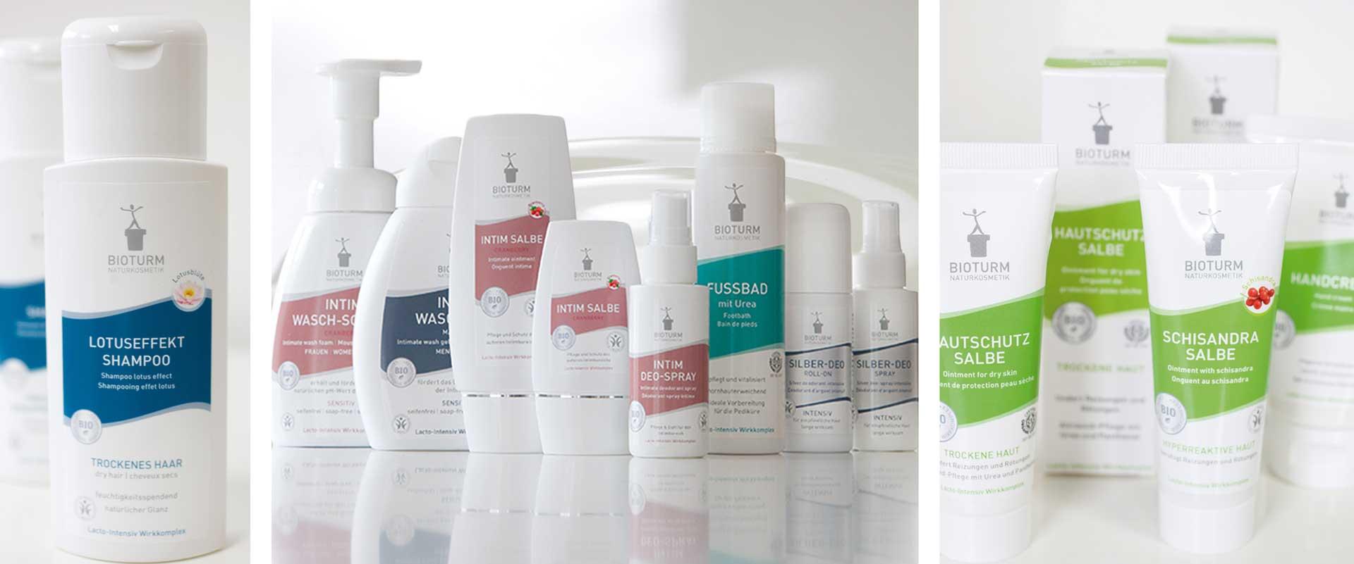 Kosmetik Verpackung Bioturm von Designagentur Köln