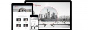 Webdesign für Unternehmensberatung von Design Agentur Köln