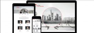responsive Webdesign und Programmierung für Global Board Services