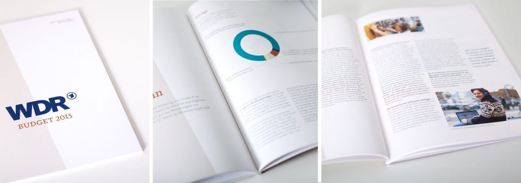 Gestaltung Geschäftsbericht