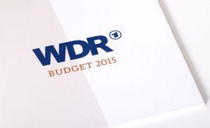 Layout Geschäftsbericht WDR