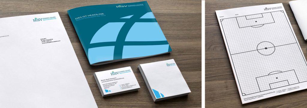 Corporate Design Entwicklung für Hisv Köln