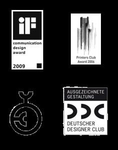 Design Awards deerns und jungs Designagentur Hamburg und Designagentur Köln