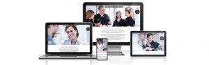 Webdesign Agentur Hamburg mit SEO für blendent Zahnarztpraxis