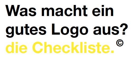 Checkliste Logo Design von Design Agentur Hamburg