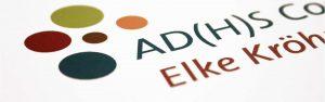 Logo Gestaltung für ADHS Coaching von Design Agentur Hamburg