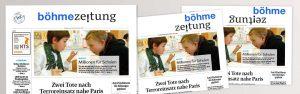 Logodesign für die Böhme-Zeitung von Design Agentur Hamburg